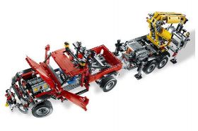 slight creasing 8258 lego technic crane truck technic just bricks. Black Bedroom Furniture Sets. Home Design Ideas