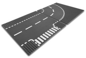 7281 LEGO® T-Junction and Curved Plates