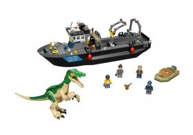 76942 LEGO® JURASSIC WORLD Baryonyx Dinosaur Boat Escape