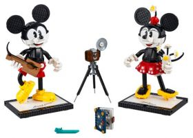 43179 LEGO® Disney™ Mickey Mouse & Minnie Mouse Buildable Characters