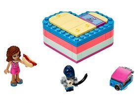 41387 LEGO® FRIENDS Olivia's Summer Heart Box