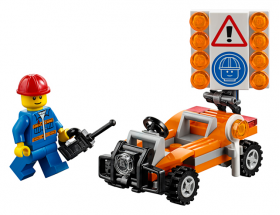 30357 LEGO® CITY Road Worker 2