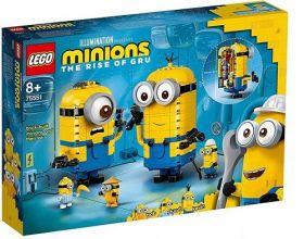 75551 LEGO® MINIONS Brick-built Minions and their Lair