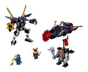 70642 LEGO® NINJAGO Killow vs. Samurai X