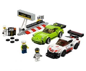 75888 LEGO® SPEED CHAMPIONS  Porsche 911 RSR and 911 Turbo 3.0