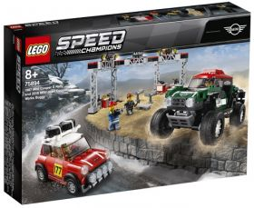 75894 LEGO® SPEED CHAMPIONS 1967 Mini Cooper S Rally and 2018 MINI John Cooper Works Buggy