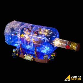 LIGHT MY BRICKS Kit for 21313 LEGO® Ship in a Bottle