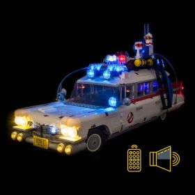 LIGHT MY BRICKS Kit for 10274 LEGO® Ghostbusters Ecto-1 Light & Sound Kit (Remote Control)