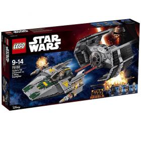 75150 LEGO® STAR WARS® Vader's TIE Advanced vs. A-Wing Starfighter