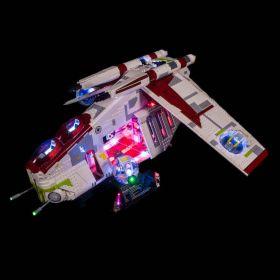 LIGHT MY BRICKS Kit for 75309 LEGO® UCS Republic Gunship