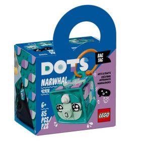 41928 LEGO® DOTS Bag Tag Narwhal