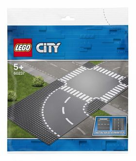 60237 LEGO® CITY Curve and Crossroad
