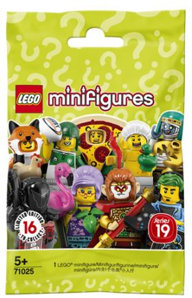 71025 LEGO® Minifigures Series 19 - 1 SINGLE