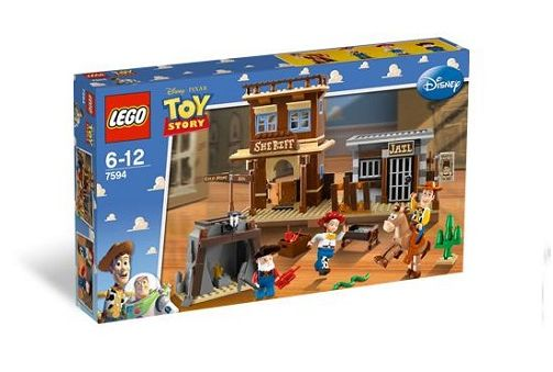 7594 Lego Toy Story Woodys Roundup