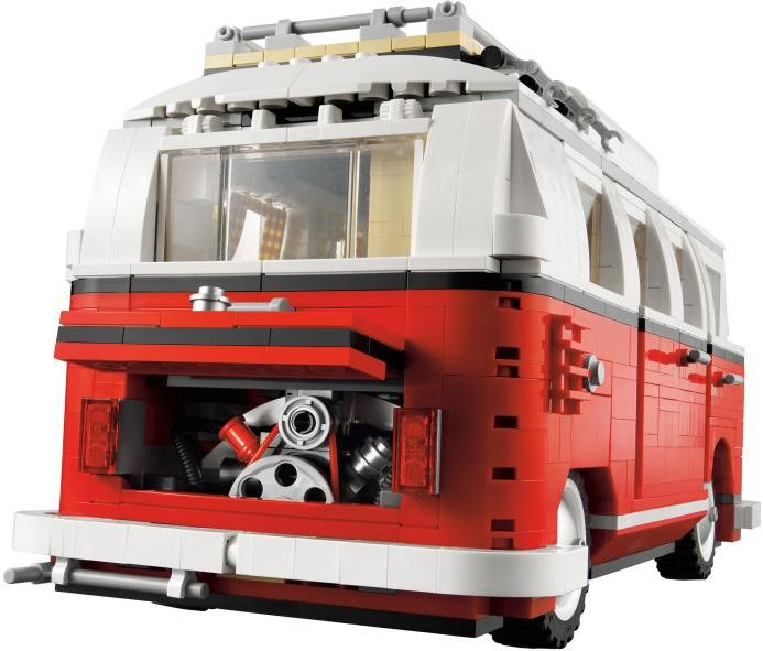 lego game camper dp building volkswagen creator van